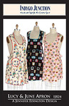 Indygo Junction Lucy & June Apron Sewing Pattern
