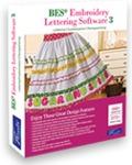 Brother, SABESLET3, BES 3, bes4,  Designer's Gallery, Embroidery Lettering Software +ScanNCut Application October 2014