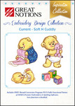 Great Notions Inspiration Collection Current USA Inc Soft n Cuddly Licenced Multiformat Embroidery Design CD
