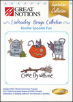 Great Notions Inspiration Collection Kookie Spookie Fun Licenced Multiformat Embroidery Design CD