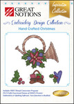 Great Notions Inspiration Collection Hand Crafted Christmas Licenced Multiformat Embroidery Design CD