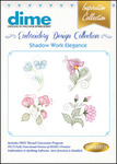 Great Notions #16 Collection Shadow Work Elegance Multiformat Embroidery Designs CD