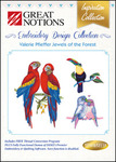 Great Notions Inspiration Collection Valerie Pfieffer Jewels of the Forest Licenced Multiformat Embroidery Design CD
