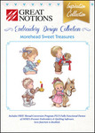 Great Notions Inspiration Collection Morehead Sweet Treasures Licenced Multiformat Embroidery Design CD