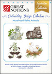 Great Notions Inspiration Collection Morehead Baby Animals Licenced Multiformat Embroidery Design CD