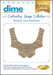 Great Notions 18BDEC-LNeckline Collection Timeless Lace Necklines Multiformat Embroidery Designs CD