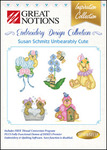 Great Notions Inspiration Collection Susan Schmitz Unbearably Cute Licenced Multiformat Embroidery Design CD