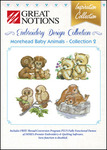 Great Notions Inspiration Collection Morehead Morehead Baby Animals 2 Licenced Multiformat Embroidery Design CD