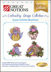 Great Notions Inspiration Collection Susan Schmitz Bluebirds Licenced Multiformat Embroidery Design CD