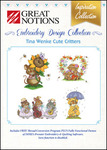 Great Notions Inspiration Collection Tina Wenke Cute Critters Licenced Multiformat Embroidery Design CD