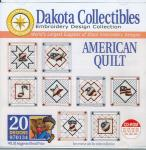 Dakota Collectibles 970134 American Quilt Embroidery Designs CD