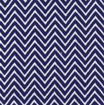 Fabric Finders 15 Yd Bolt 9.33 A Yd 1356-1 Royal Chevron 100% Pima Cotton Fabric 60 inch