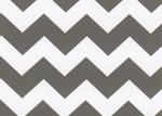 Fabric Finders 15 Yd Bolt 9.33 A Yd 1599 Grey Chevron 100% Pima Cotton Fabric 60 inch