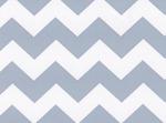 Fabric Finders 15 Yd Bolt 9.33 A Yd 1601 Blue Chevron 100% Pima Cotton Fabric 60 inch
