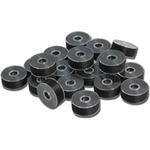 Exquisite EX400 Black Style L Plastic Bobbins (144 per box)