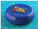 Blue Feather 7104B Grabbit Magnetic Pin Cushion, Blue +50 Pins
