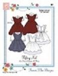 Bonnie Blue BBDP161 Tiffany Noel Sundress Pinafore Bib Jumper Blouses Sz 6m-6yr Sewing Pattern