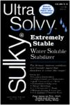 "Sulky 408-01 Ultra Solvy Water Soluble Heavy Weight Embroidery Stabilizer 19.5X36"" Inches 1 Yard"