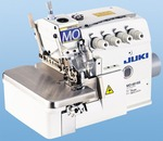 90094: Juki MO-6814S BE640 1&2 Needle 3&4 Thread Serger +Submerged Stand, Fully Assembled Ready to Sew