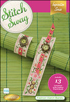 65993: DIME 155-SS_FashionWatch Stitch Swag CD for Fashion Watch Bands, 13 Variations Embroidery Designs CD