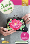 81893: DIME 157-SS-INTHEHOOP-CLUTCH Stitch Swag CD for In the Hoop Clutch Bag, 16 Variations Embroidery Designs CD