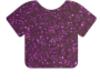 Siser Glitter HTV Heat Transfer Vinyl Sheet- Purple 12'' x 20''
