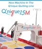 """Grace Qnique 15M Manual Mode for Free Motion Quilting Only, 15x9"""" Longarm Quilting Machine Head Only for Your Frame, No Stitch Regulation*"""