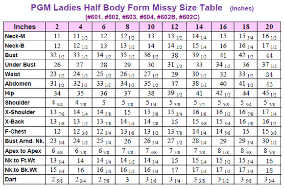 Ladies Dress Forms