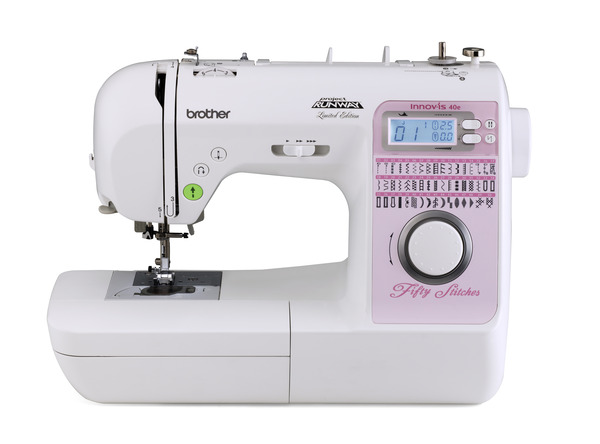 Brother NS40E Project Runway 40 Stitch Computer Sewing Machine 40 Gorgeous Best Rated Sewing Machines Consumer Reports