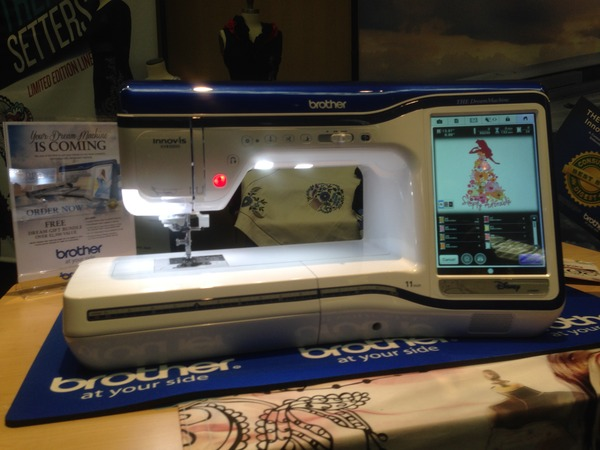Brother Seminar XV440D Dream 440440x440 Embroidery Sewing Machine 40 Unique Brother Embroidery Sewing Machines For Sale