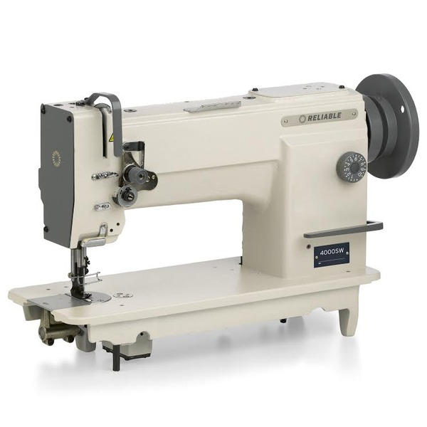 Reliable 40SW Walking Foot Needle Feed Sewing Machine Assembled Custom Glaco Industrial Sewing Machine
