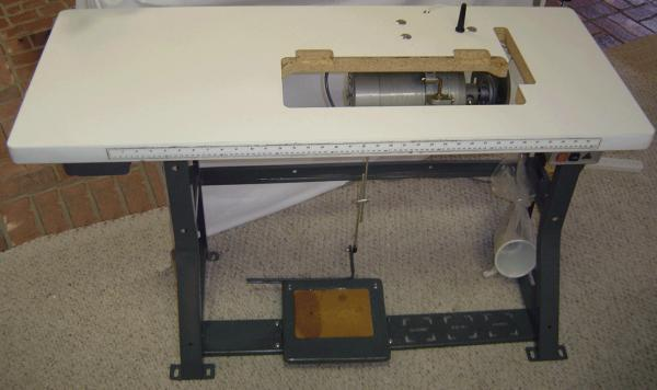 Juki DDL40N Sewing Machine JAPAN Assembled Ready To Sew At Delectable Industrial Sewing Machine Tables
