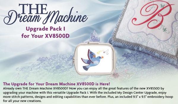 Brother SAVRXVUGK1 THE Dream Machine Upgrade Kit at