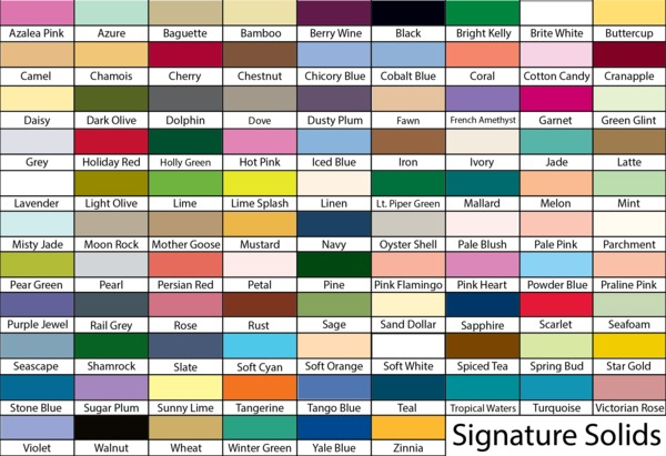 A Amp E Signature Fan Deck Color Chart Card For 204 Colors