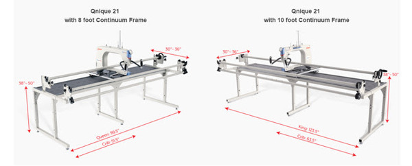 Grace Continuum 8\' Machine Quilting Frame at AllBrands.com