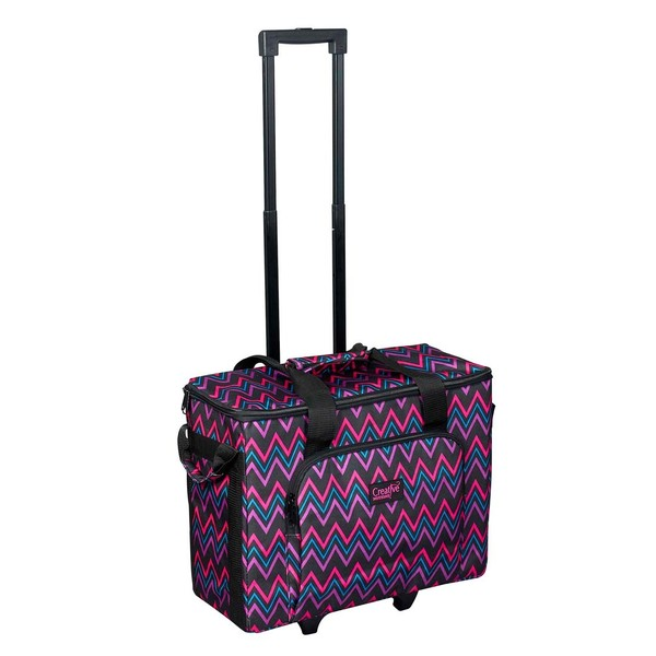 Creative Notions Cnl09 Sewing Machine Trolley Bag 14x20x8