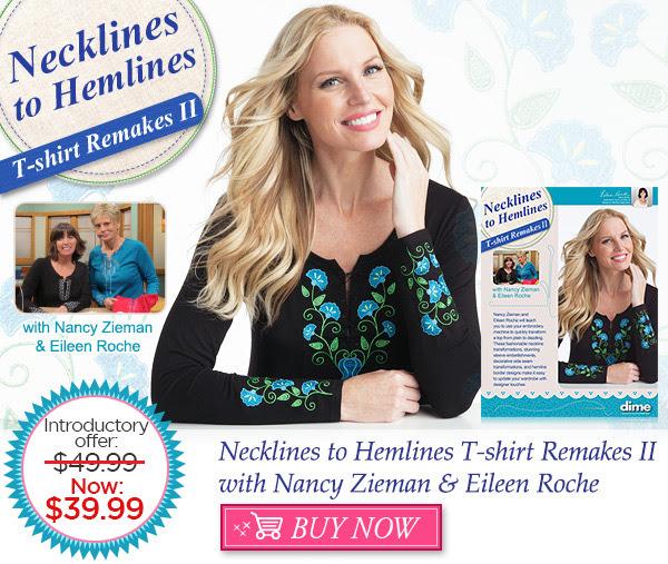Neckline To Hemlines T-Shirt Remakes II