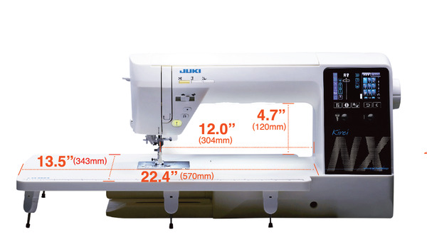 Juki Hzl Nx7 Kirei 351 Stitch Computer Sewing And Quilting