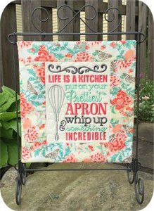 Embroidery Garden In The Hoop Kitchen Set With Kitchen Sayings