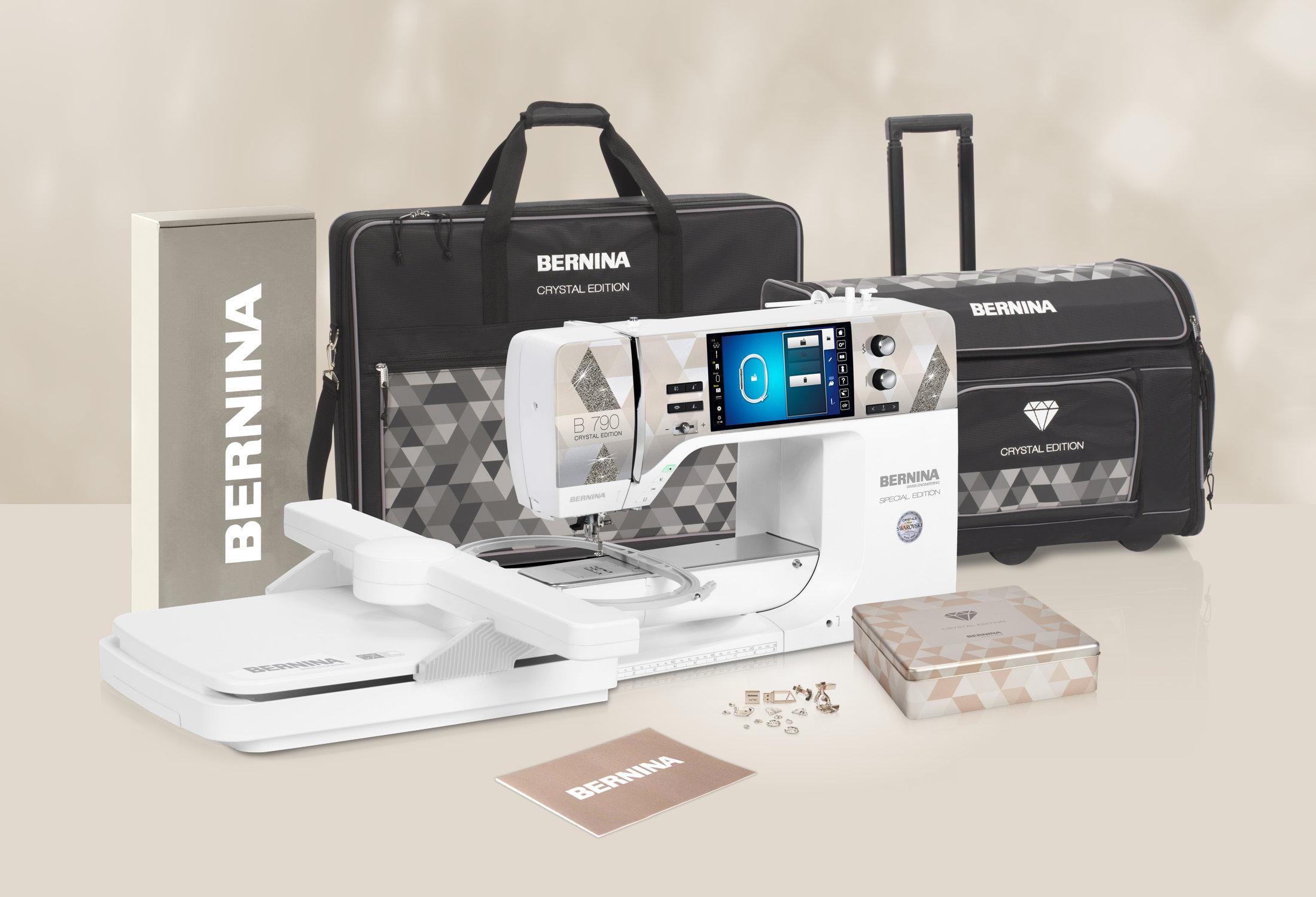 Bernina 790 PLUS Crystal Edition