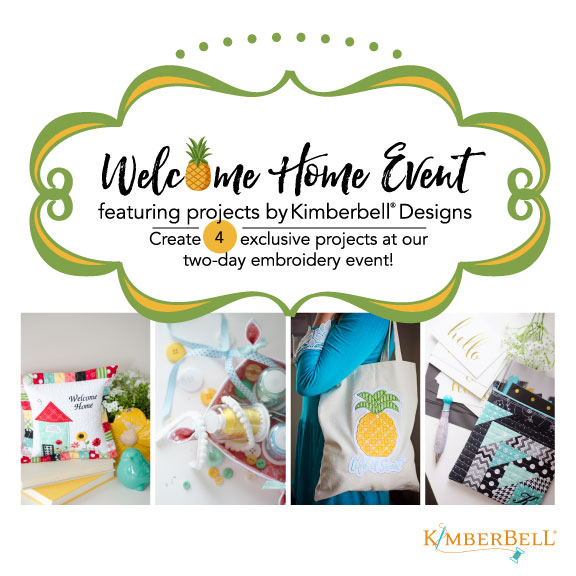 Kimberbell Designs Welcome Home