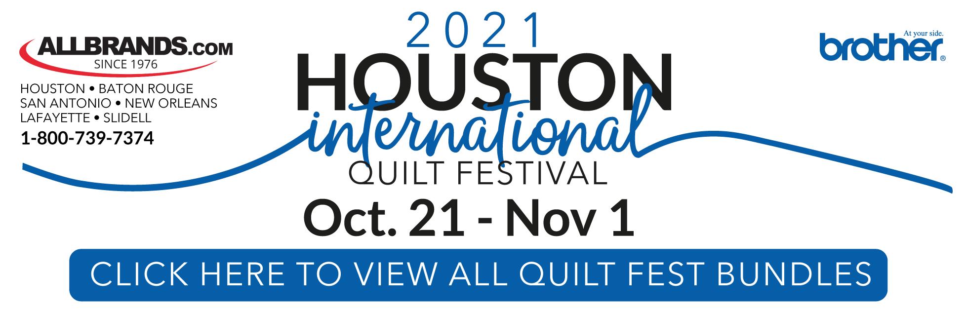 Houston Quilt Festival Promo