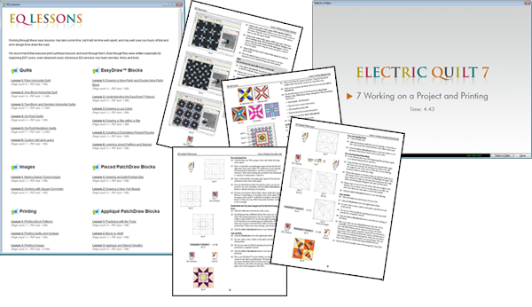 Learn EQ8 by going through the 22 available software lessons
